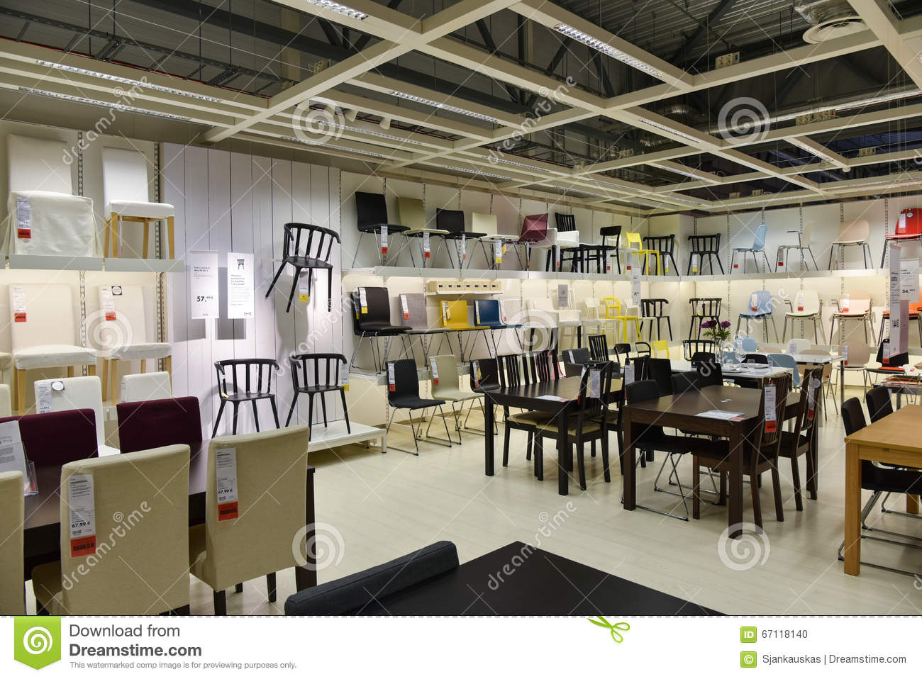 Ikea Furniture Store Editorial Image Image Of Accessories 67118140