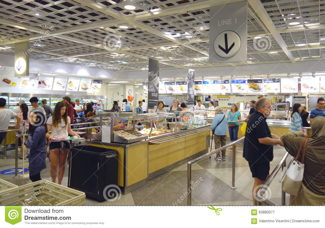Ikea restaurant editorial photography image of floor for Cost of ikea assembly service