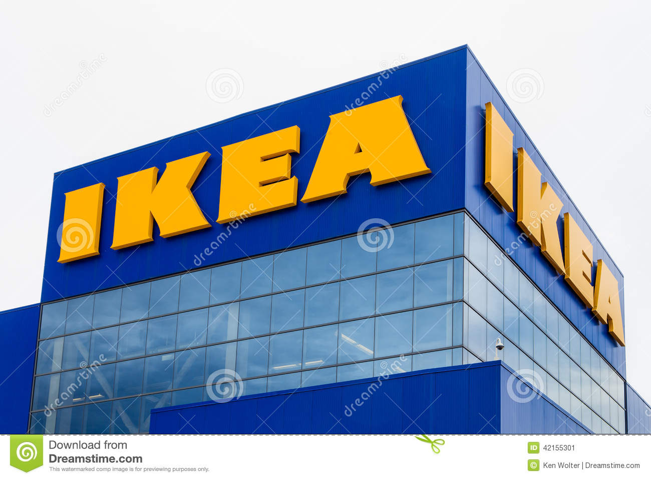 Ikea Store Exterior Editorial Photo Image 42155301