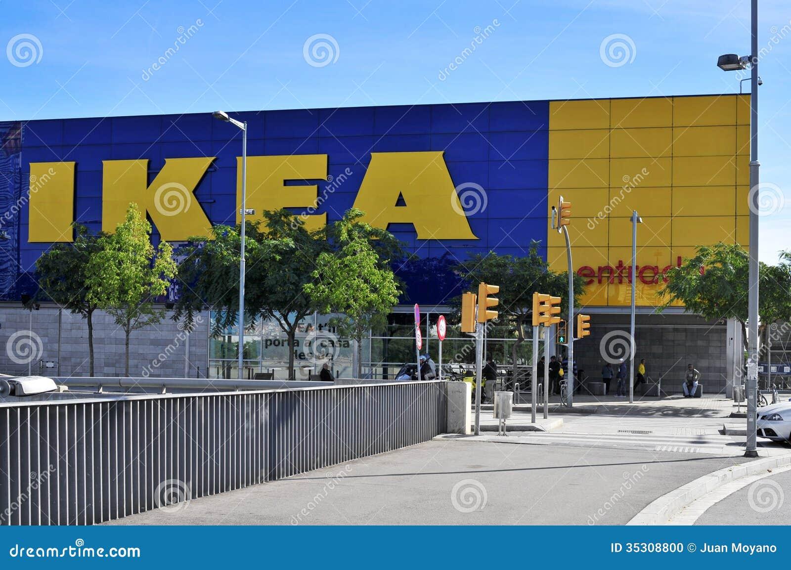 Ikea store in hospitalet de llobregat spain editorial - Muebles en hospitalet de llobregat ...