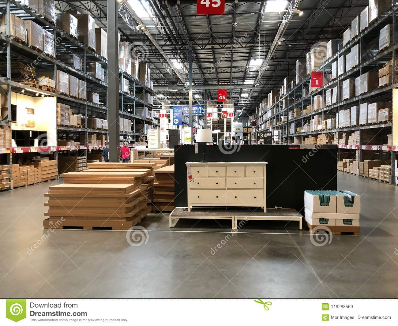 Ikea Store Editorial Stock Image Image Of Love Company 119288569