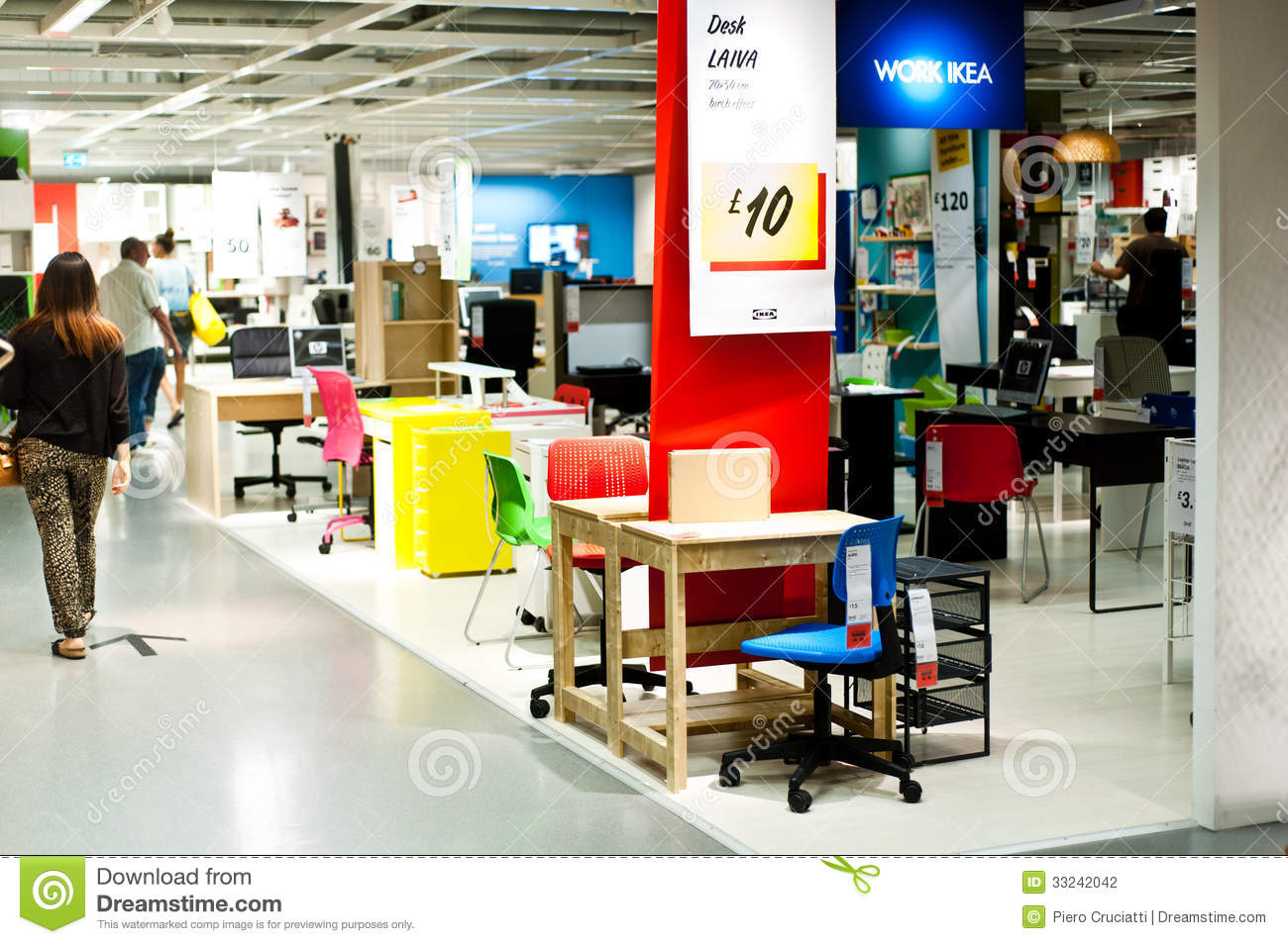 Ikea store editorial photography image of commercial for Ikea shops london
