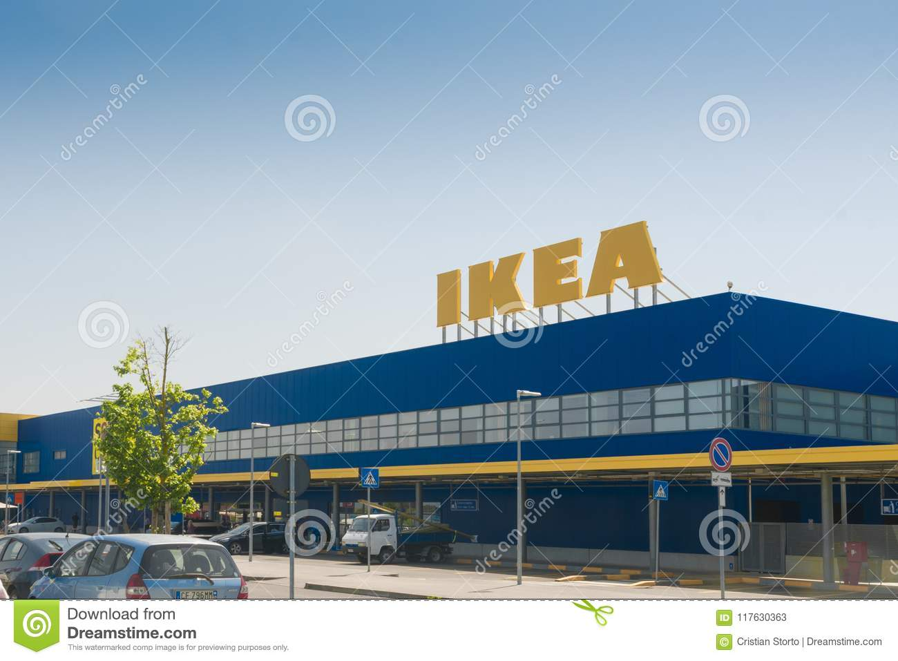 Ikea Store In Italy Editorial Stock Photo Image Of Commerce 117630363