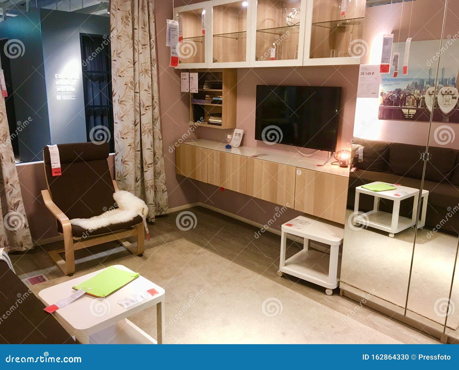Ikea Living Room Photos ikea store living room design editorial image - image of