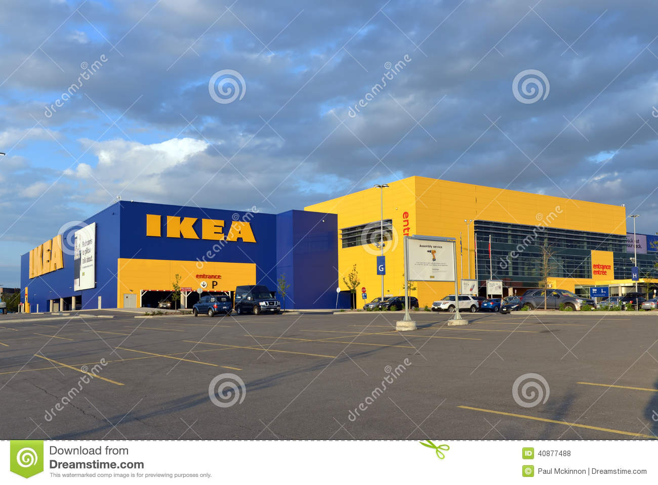 Ikea store in ottawa canada editorial stock photo image for Ikea in america