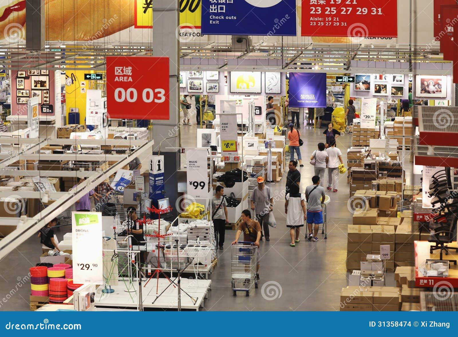 Ikea Warehouse Editorial Stock Image Image Of Shopping 31358474