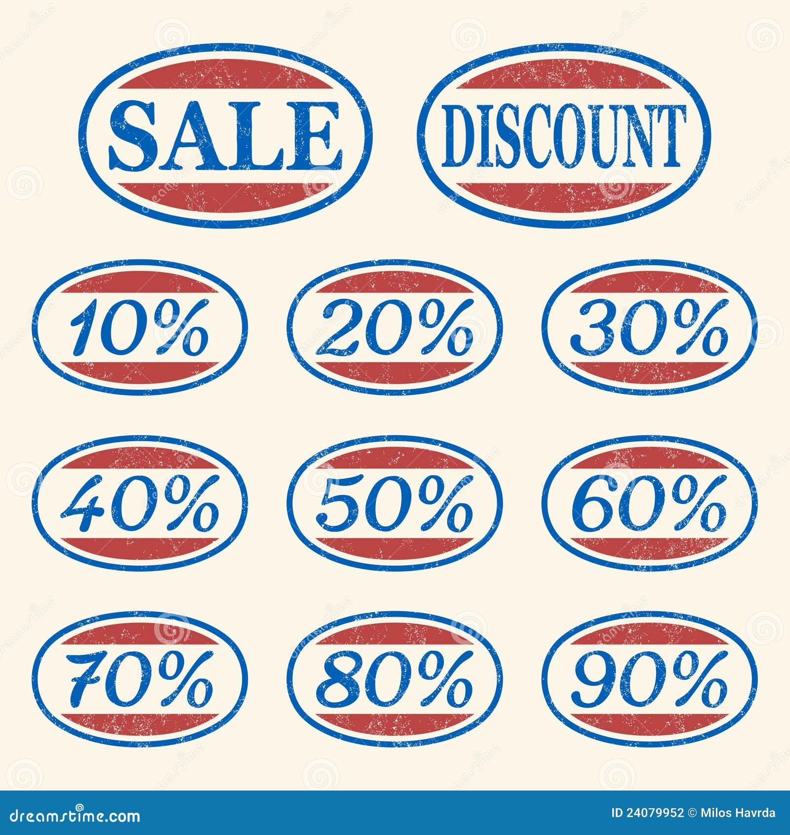 Ikon sprzedaży ustalony rocznik