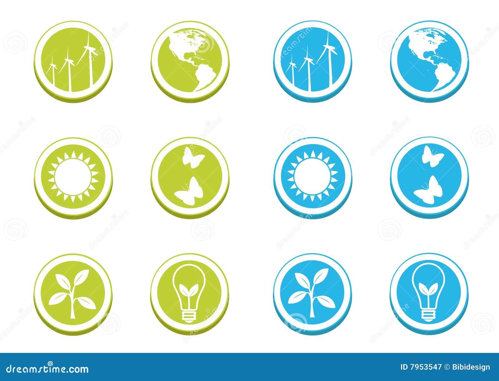 Ikona ekologiczny set