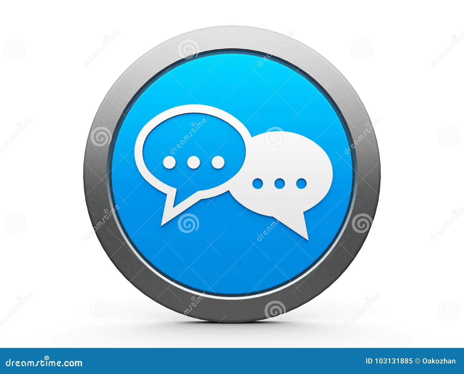 Ikona interneta rozmowa