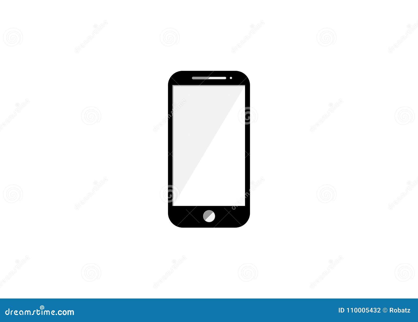 Ikona telefon mądry Elementy wiadomość i medialna leje się ikona Premii ilości graficzny projekt