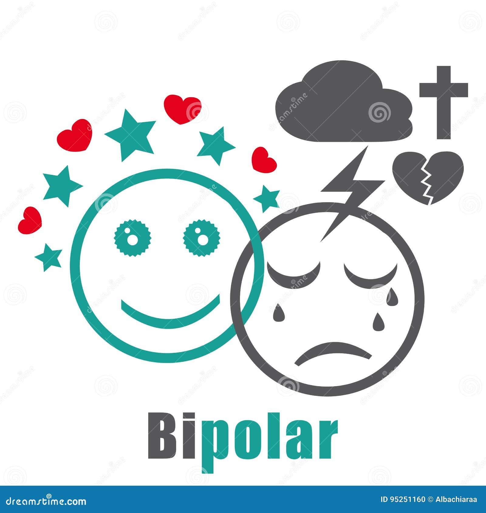 Ikone der bipolaren Störung