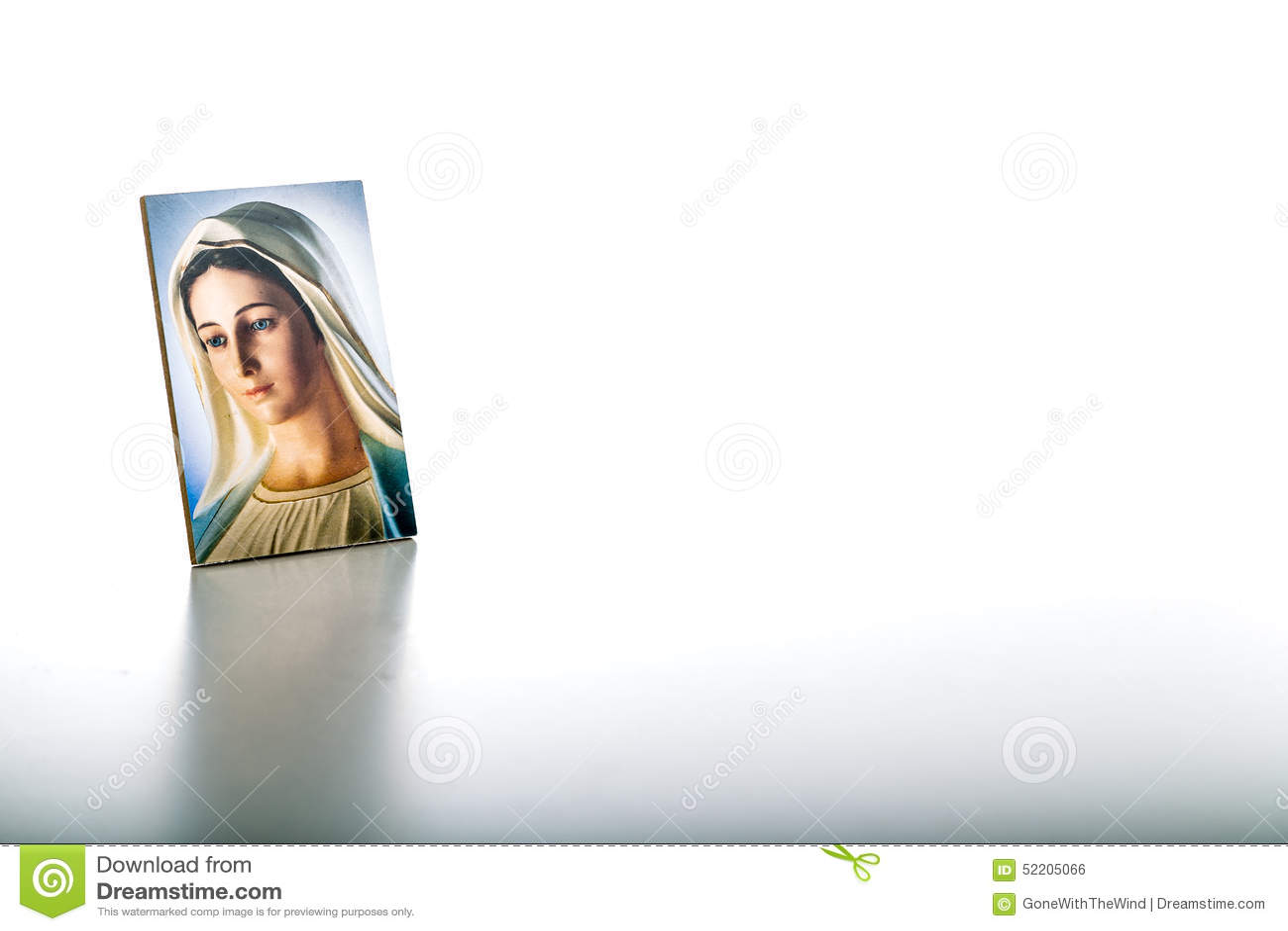 Ikone unserer Dame von Medjugorje gesegnete Jungfrau Maria