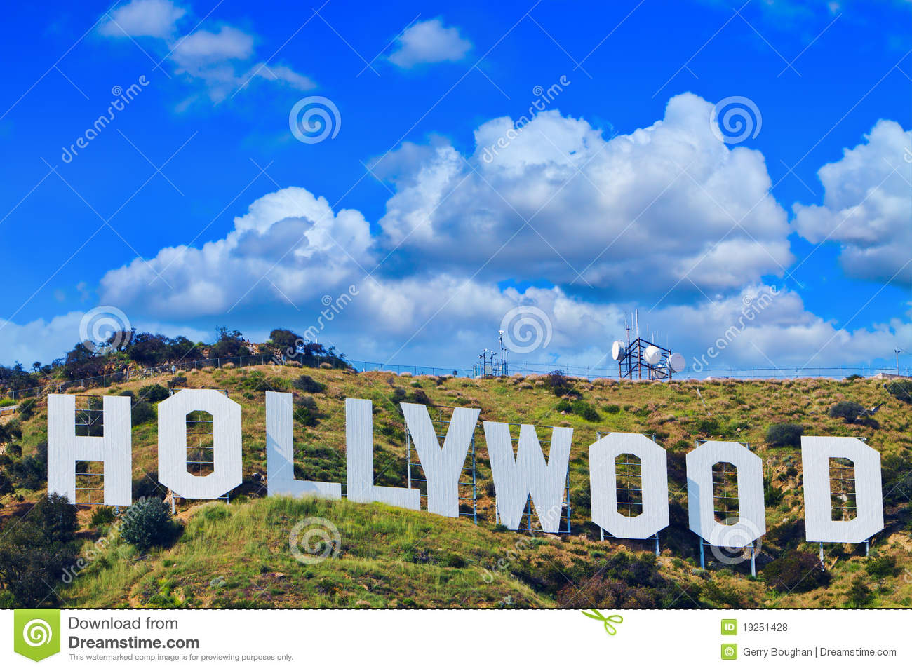 hollywood karte