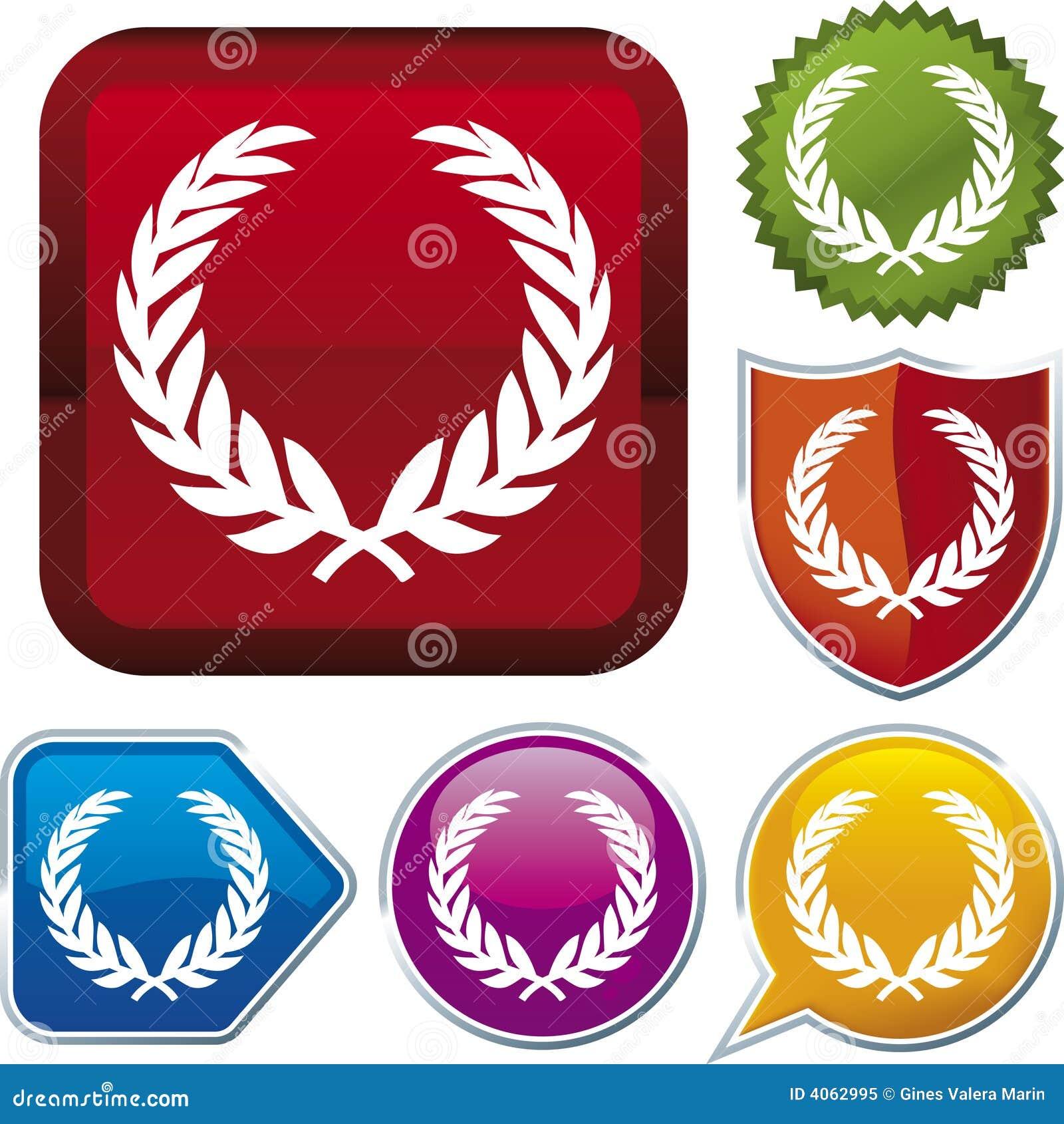 Ikonenserie: Wreath (Vektor)