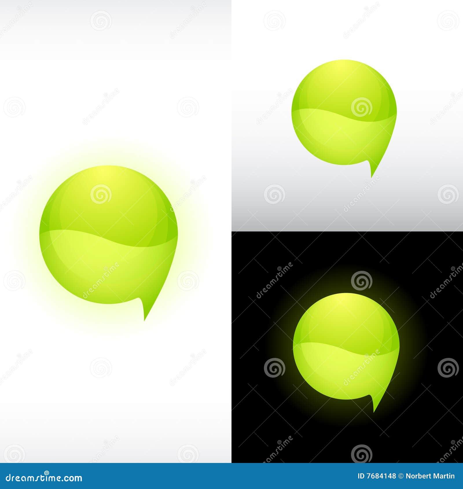 Ikony glansowana sfera