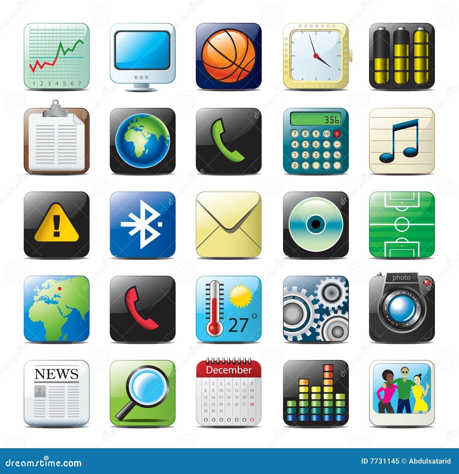 Ikony iphone