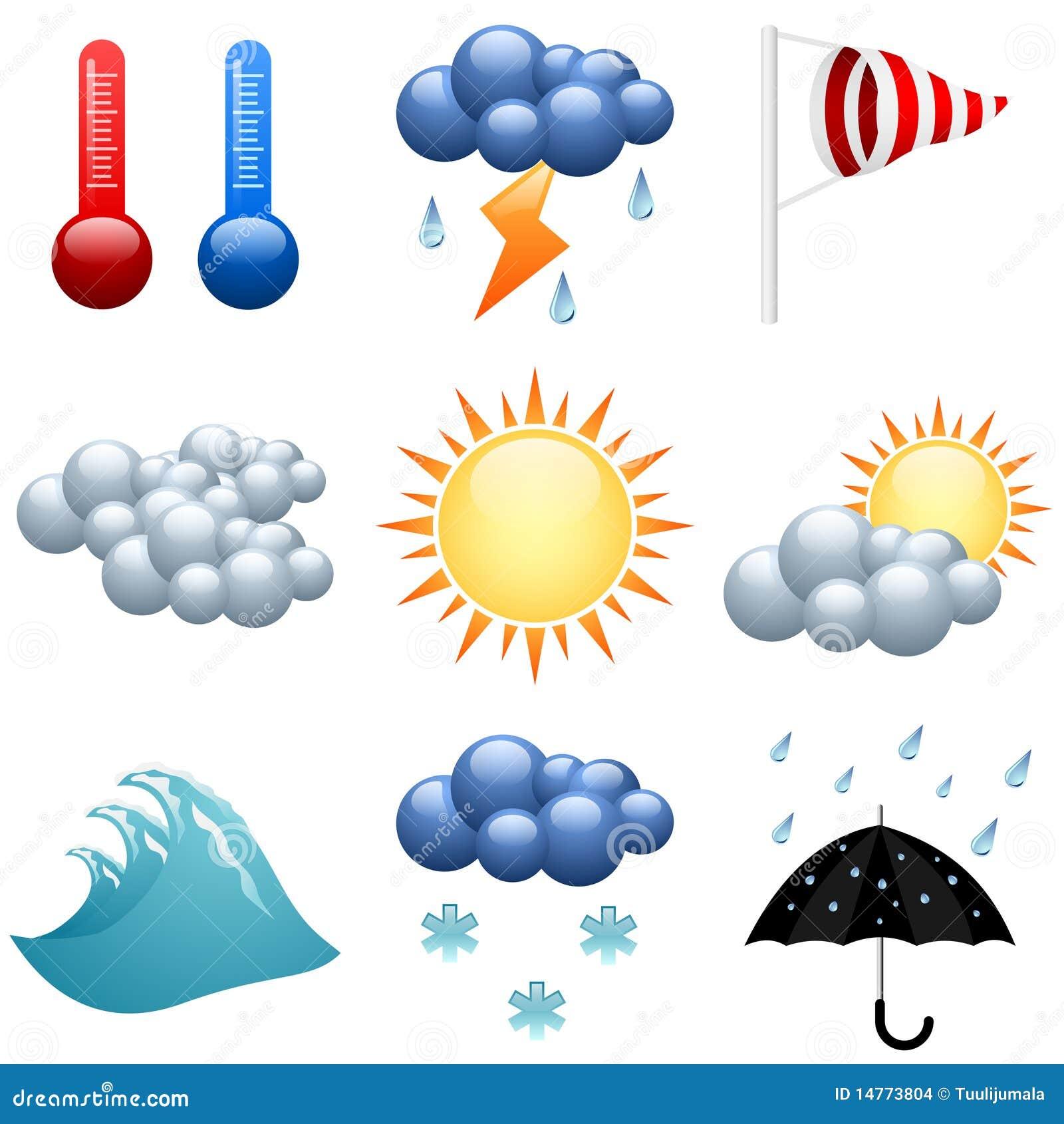 Ikony ustawiająca pogoda