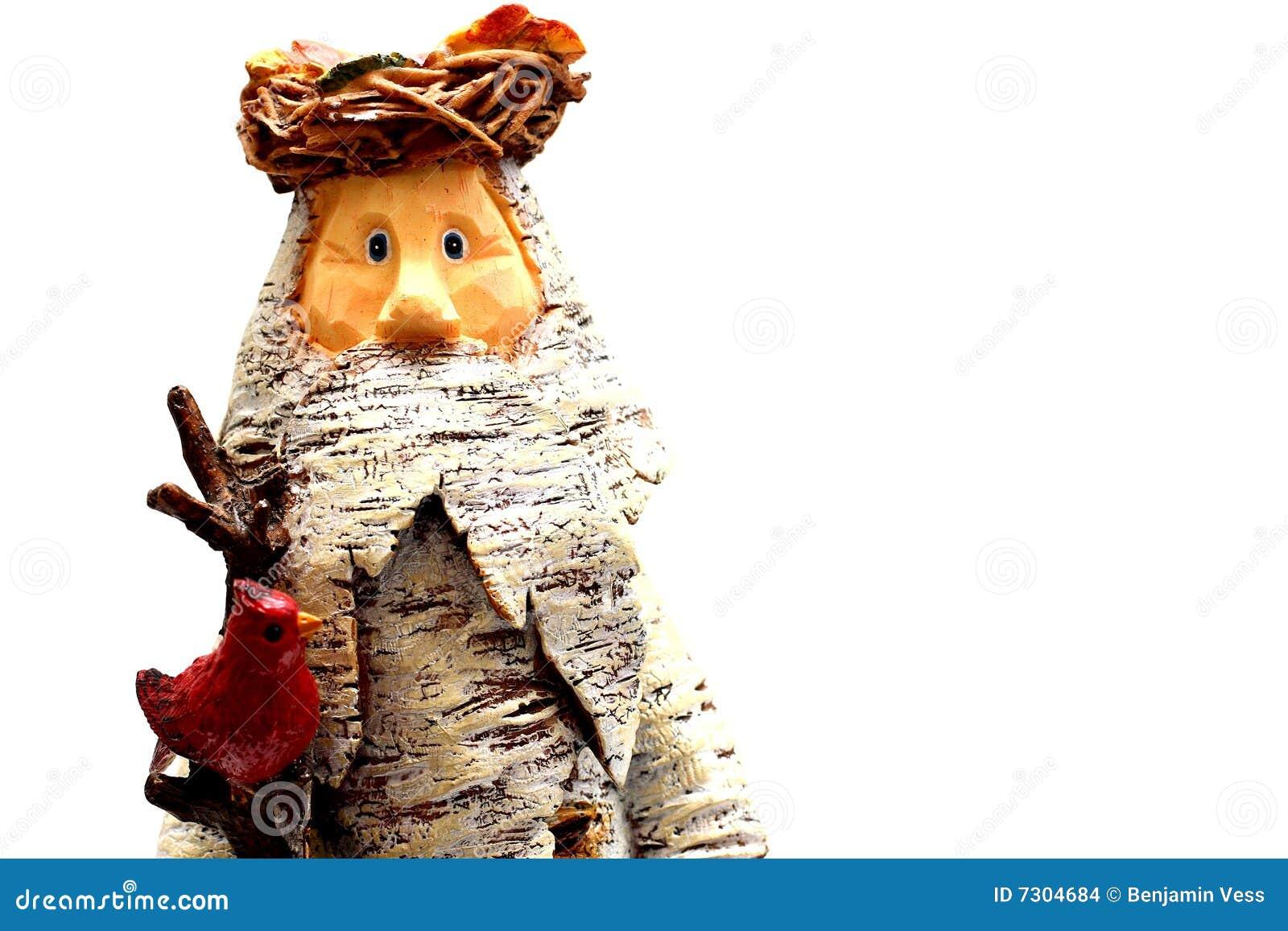 Il Babbo Natale di legno