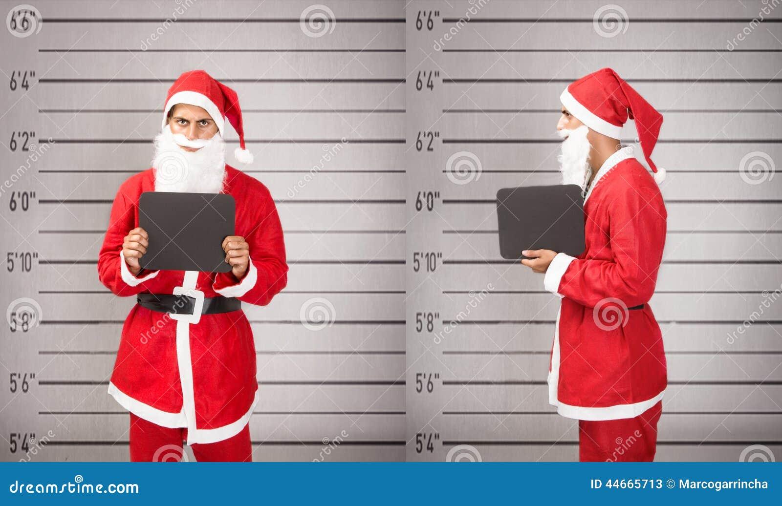 Il Babbo Natale ha arrestato