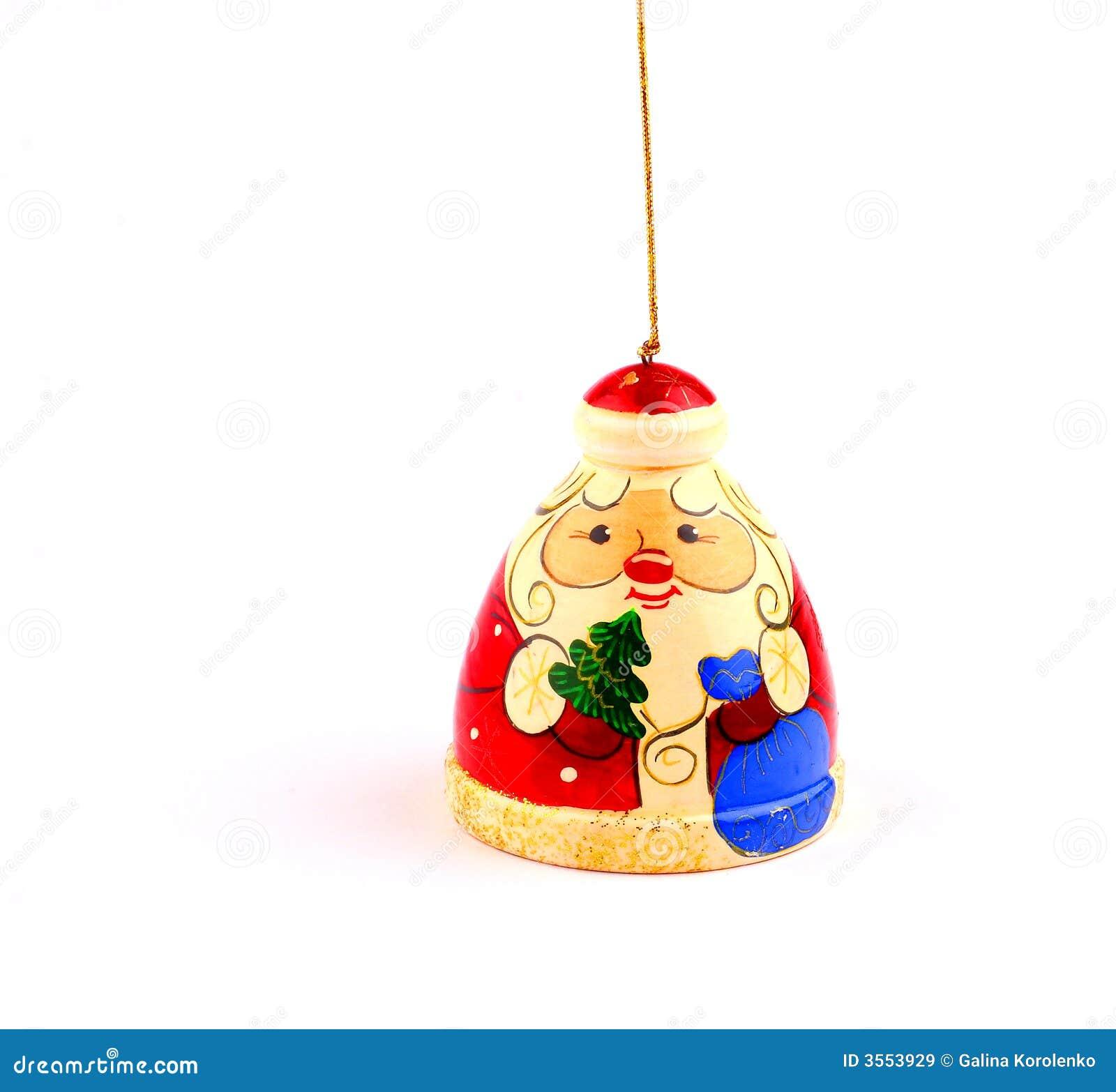 Il Babbo Natale ha attaccato a stringa