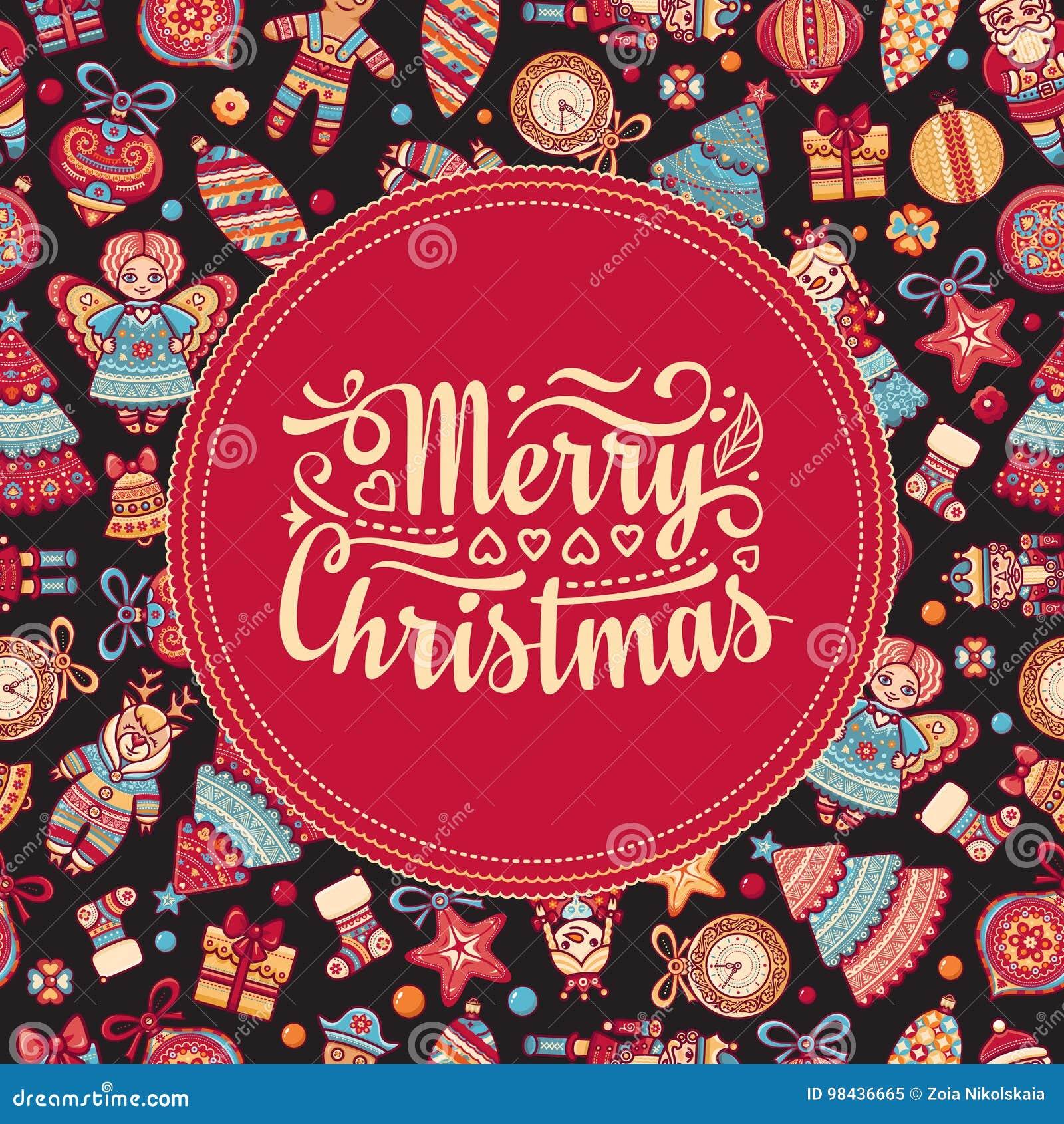 Il Babbo Natale su una slitta L ornamento decora