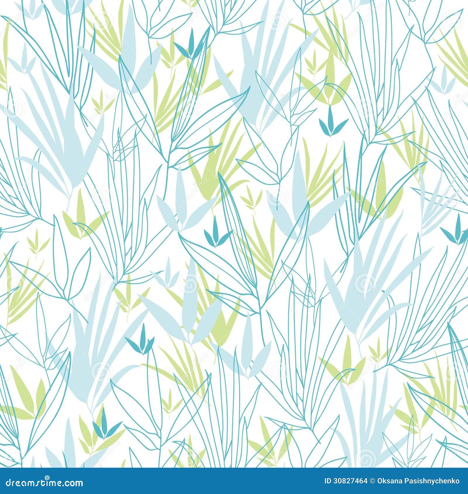 Il bambù blu si ramifica fondo senza cuciture del modello