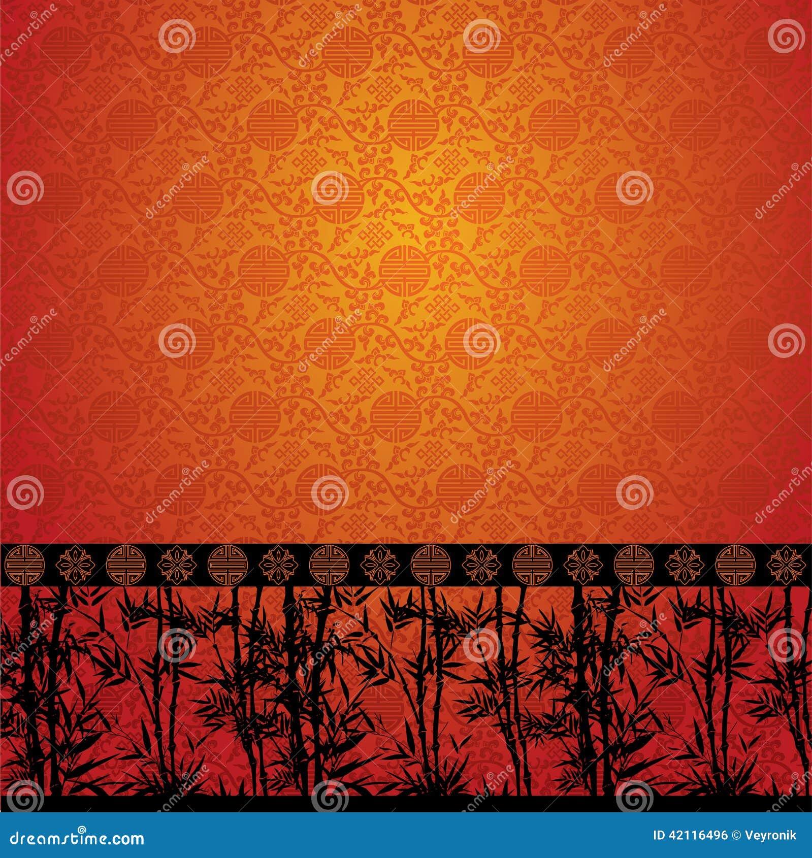 Il bamb rasenta la carta da parati cinese for Carta da parati cinese