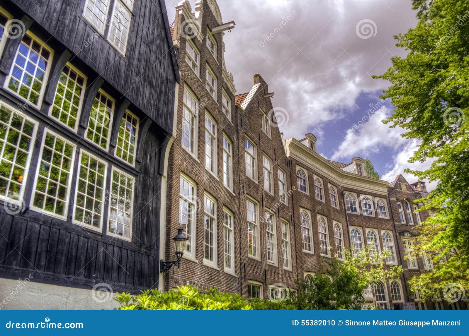 Il begijnhof a Amsterdam