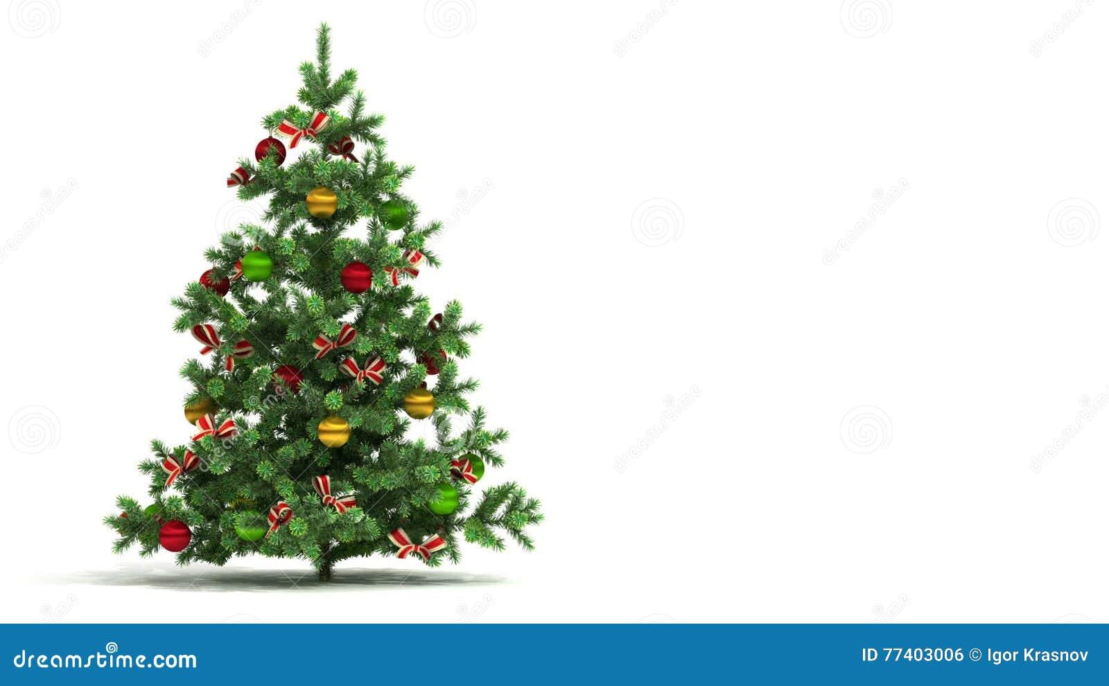 Albero Di Natale Hd.Il Bello Albero Di Natale Ha Avvolto Isolato Su Fondo Bianco Concetto Di Presentazione Del Nuovo Anno Le Prime 250 Strutture Sono Stock Footage Video Di Isolato Ornamento 77403006