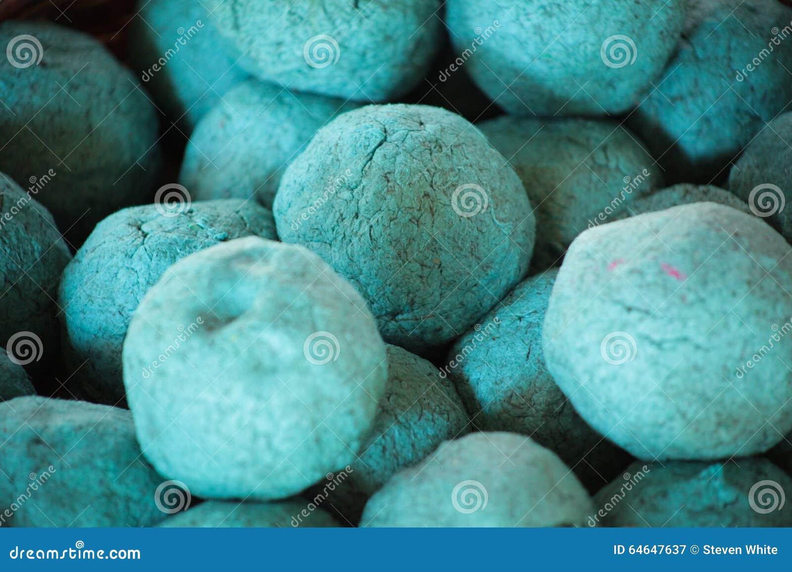 Il blu ed il turchese hanno elaborato e tinto la fibra di - Elefante foglio di colore dell elefante ...
