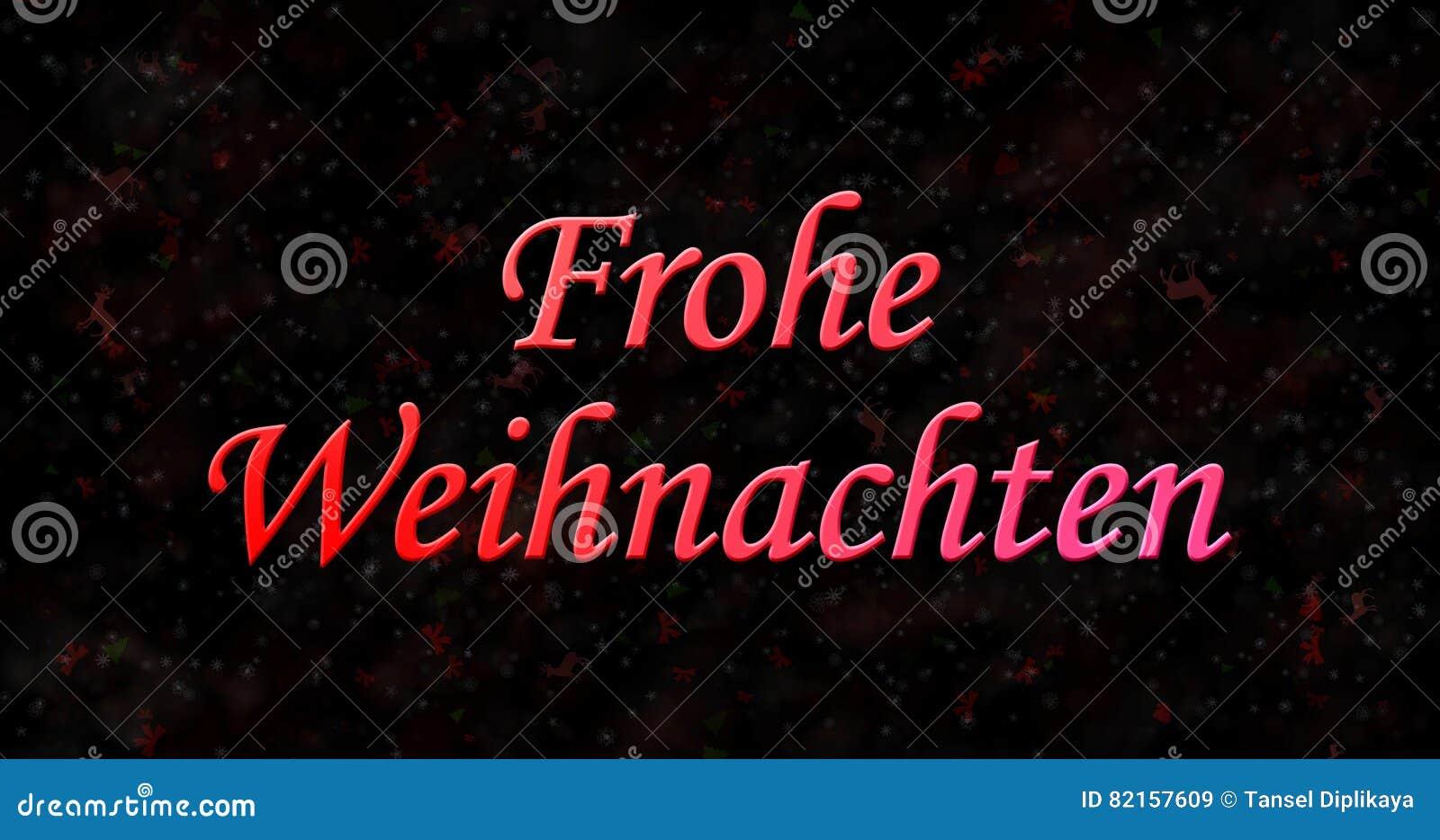 il buon natale manda un sms a in tedesco frohe weihnachten. Black Bedroom Furniture Sets. Home Design Ideas