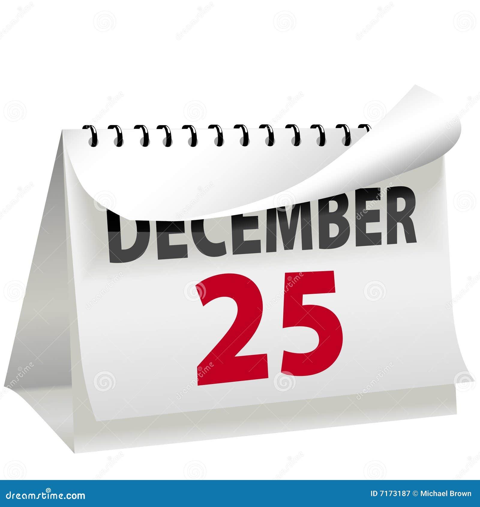 25 Natale.Il Calendario Gira La Pagina In Natale Il 25 Dicembre