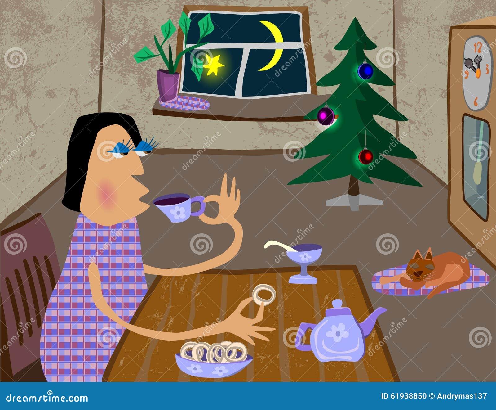 Il calore e la comodità della vostra casa al Natale ed al nuovo anno