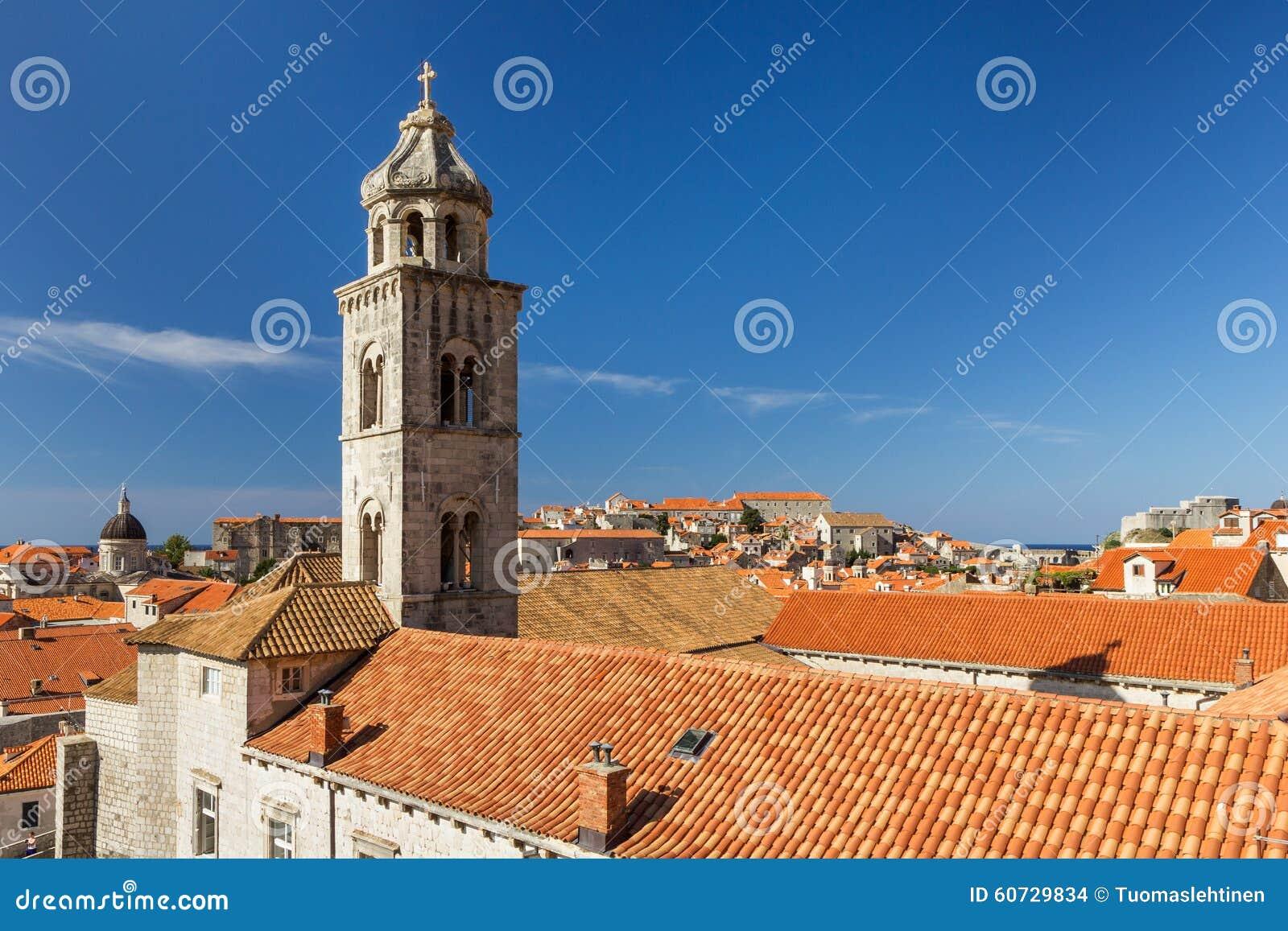 Il campanile del monastero domenicano in Ragusa