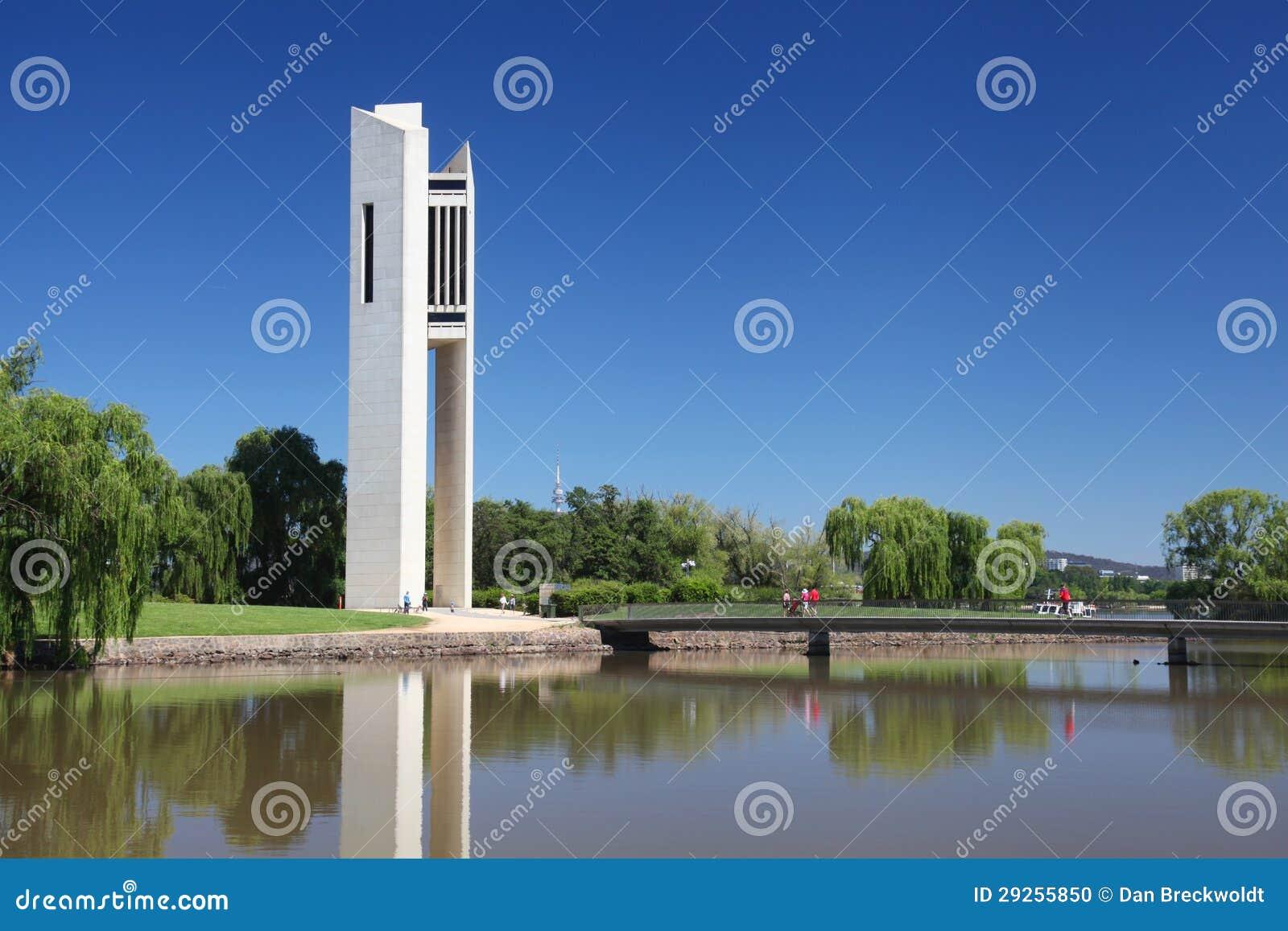 Il carillon nazionale a Canberra, Australia
