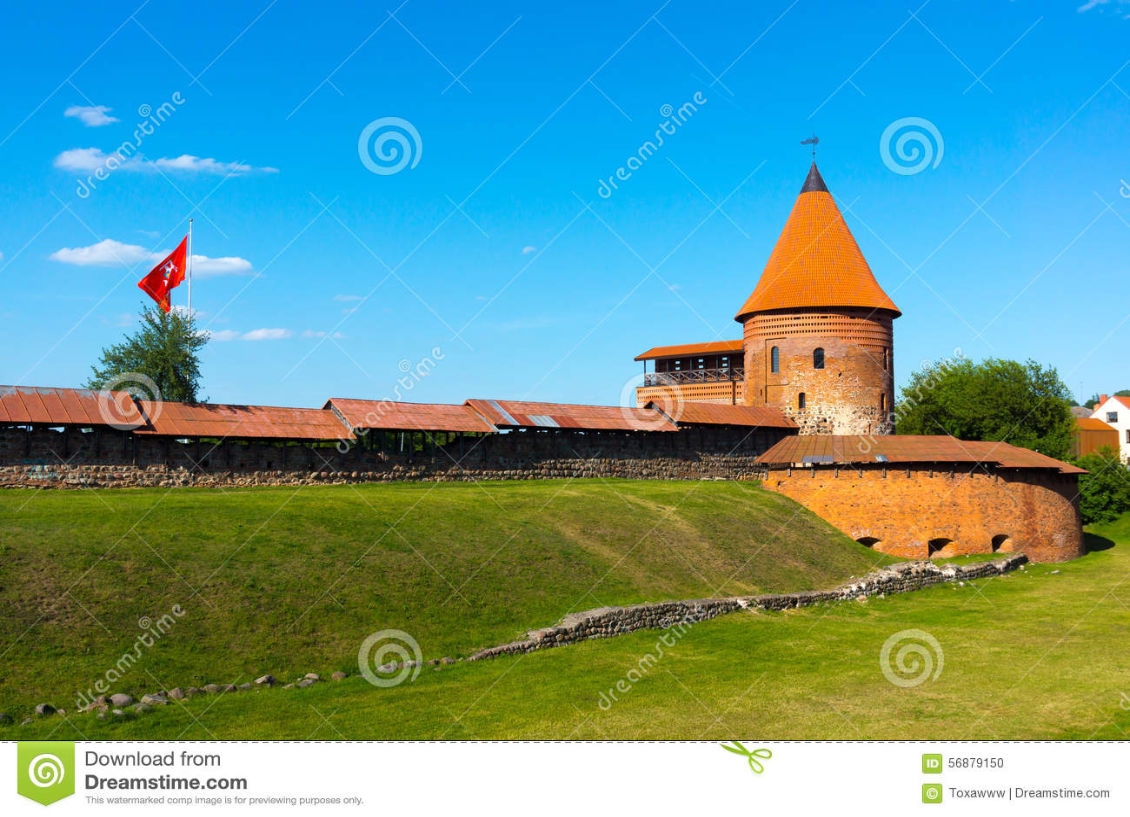 Il castello medievale a Kaunas