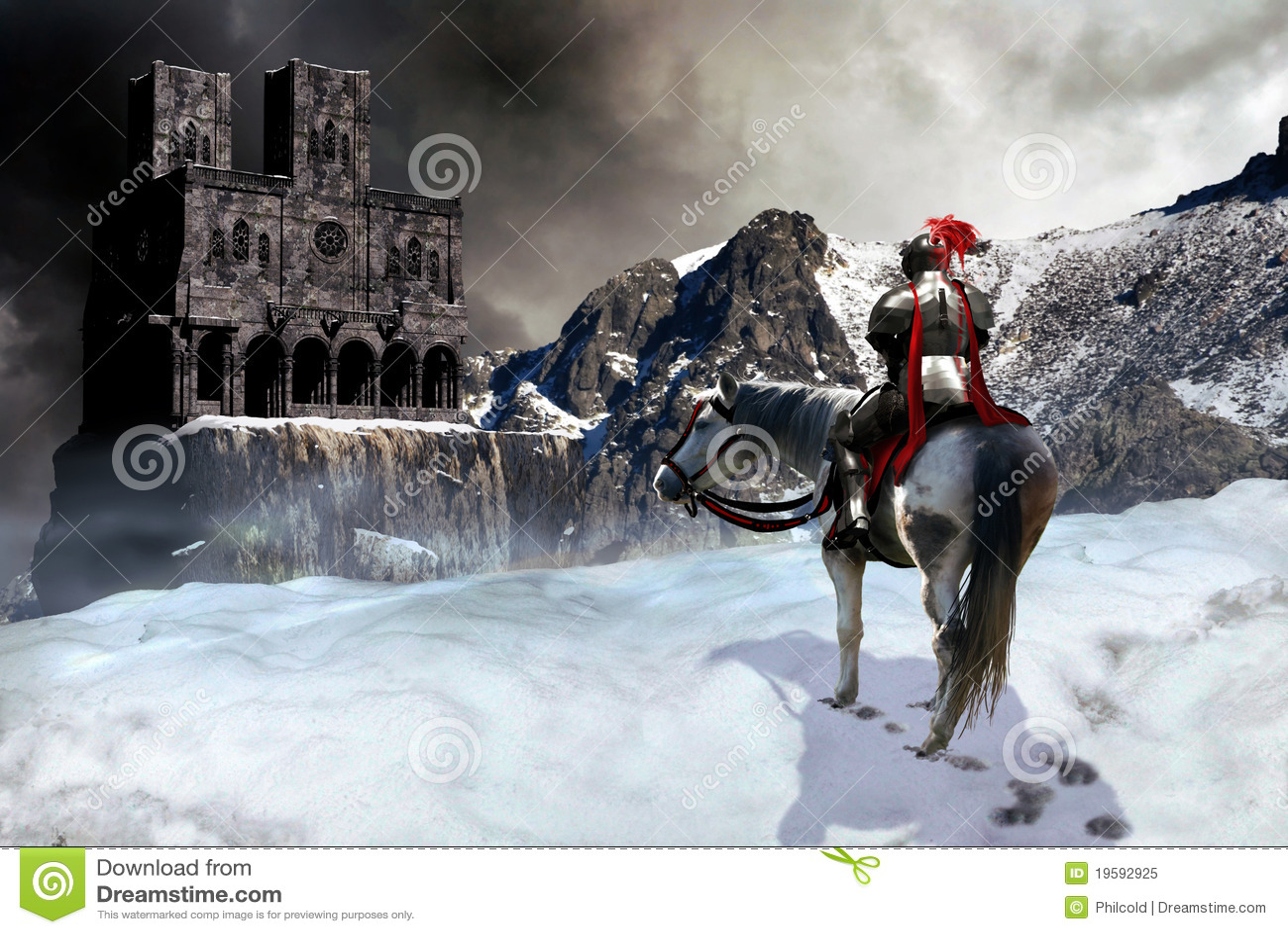 Il cavaliere ed il castello
