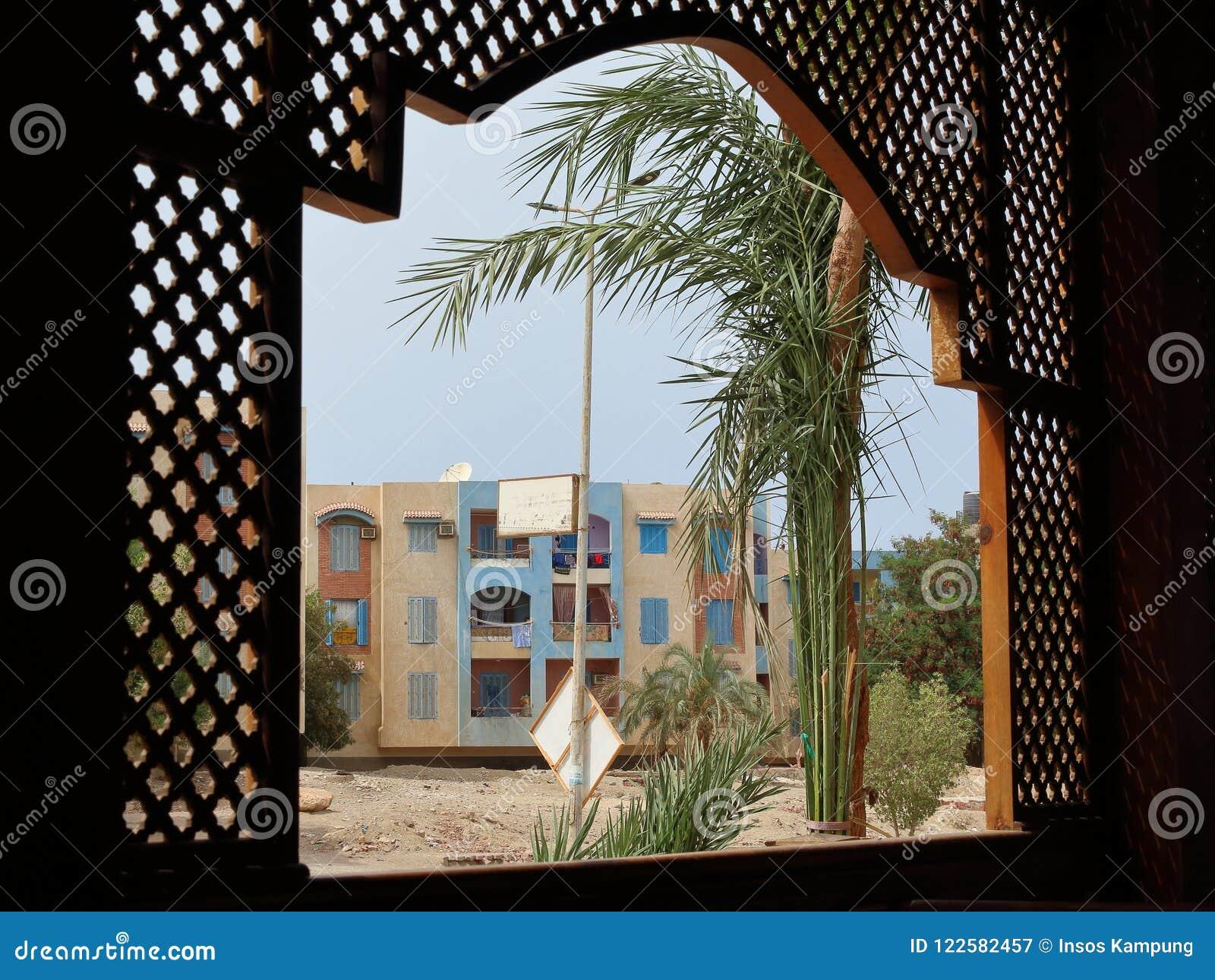 Il centro urbano di Marsa Alam, Egitto