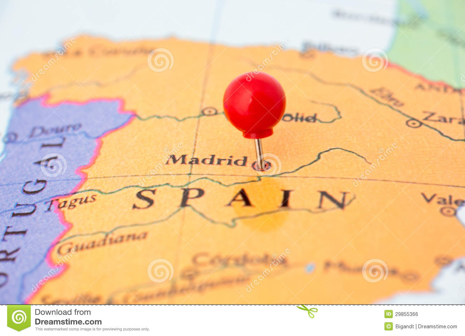 Cartina Spagna Girona