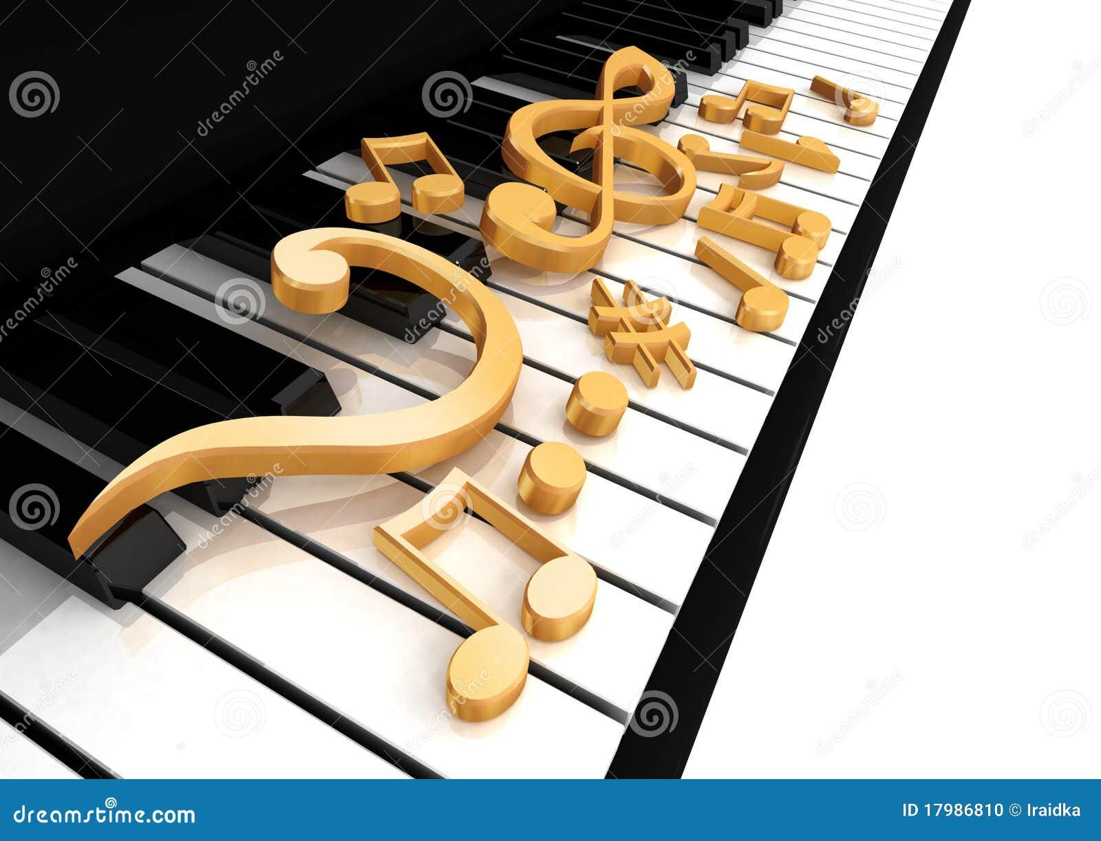 Il clef triplo è sul piano