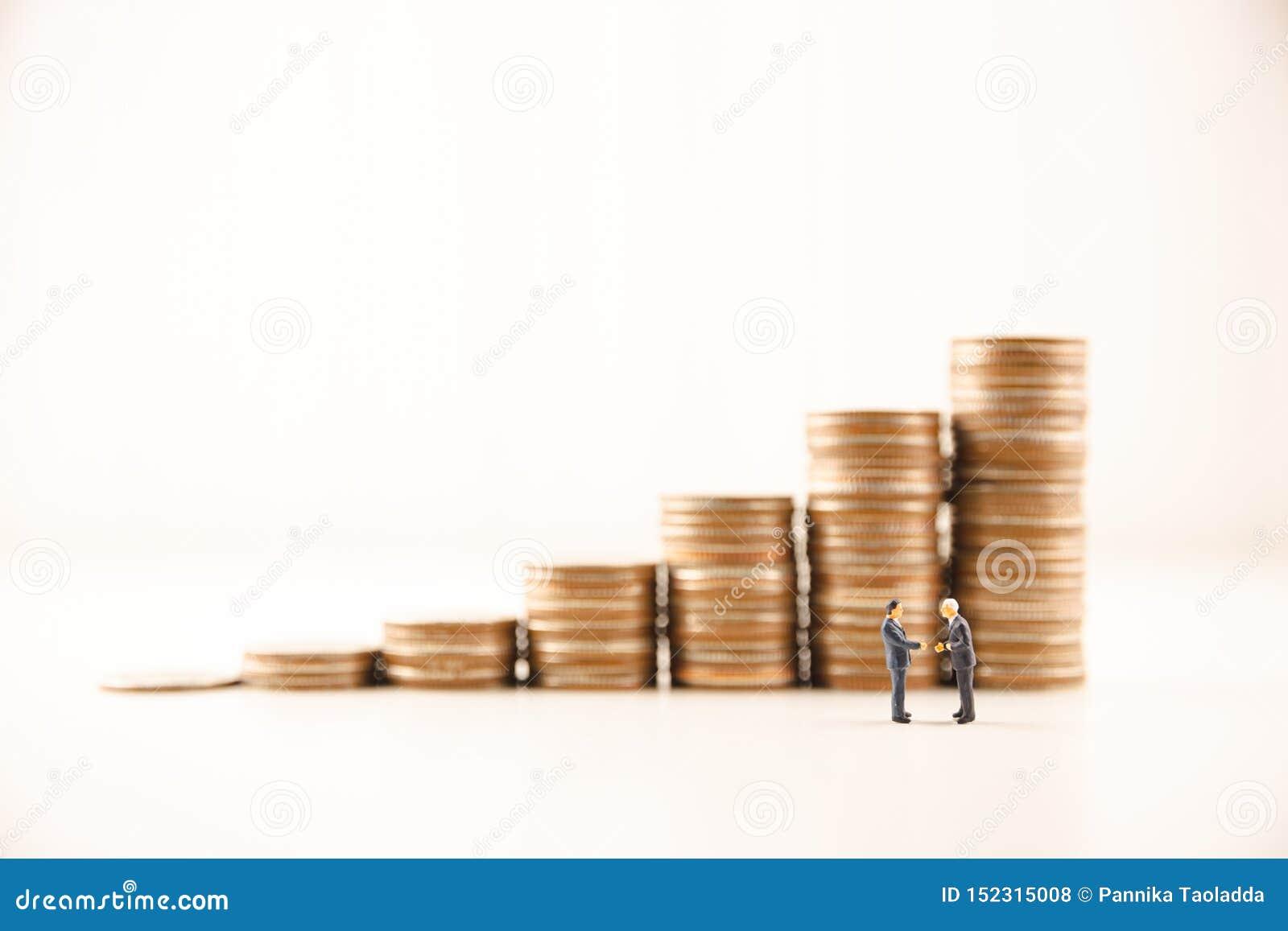 Il concetto conserva l investimento aziendale finanziario dei soldi