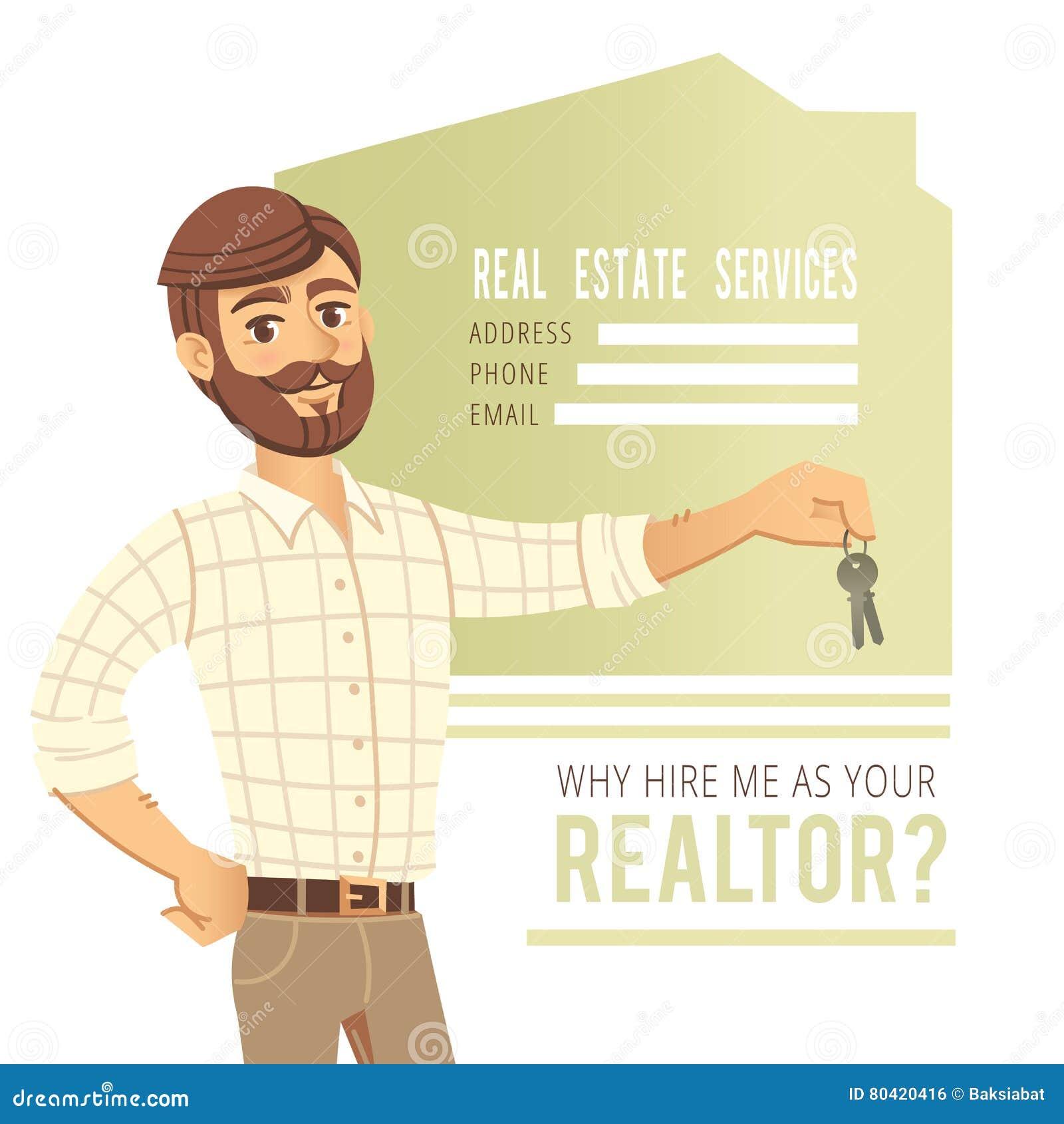 Servizi Per Agenti Immobiliari il concetto dei servizi immobili agente che mostra una casa