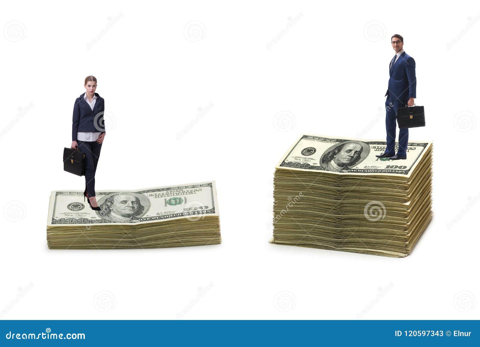 Il concetto della lacuna disuguale di genere e di paga fra la donna dell uomo