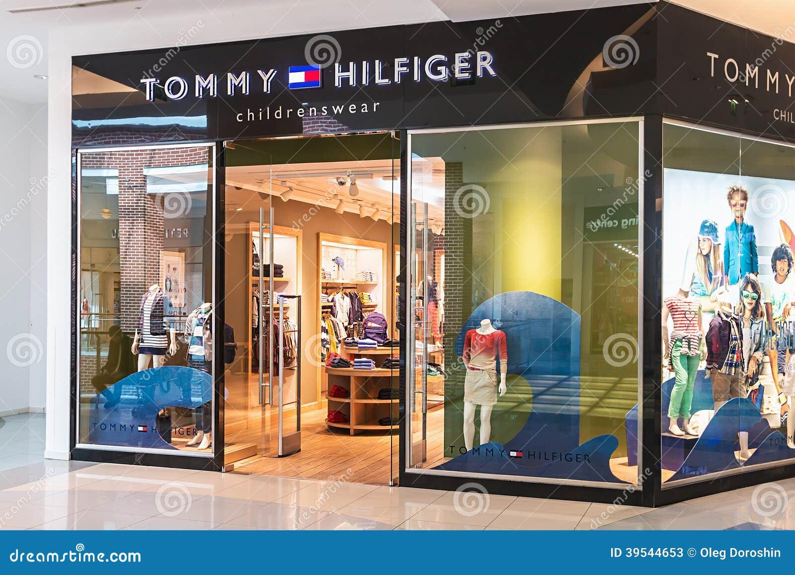 Il Deposito Di Tommy Hilfiger Children Nella Metropoli Del
