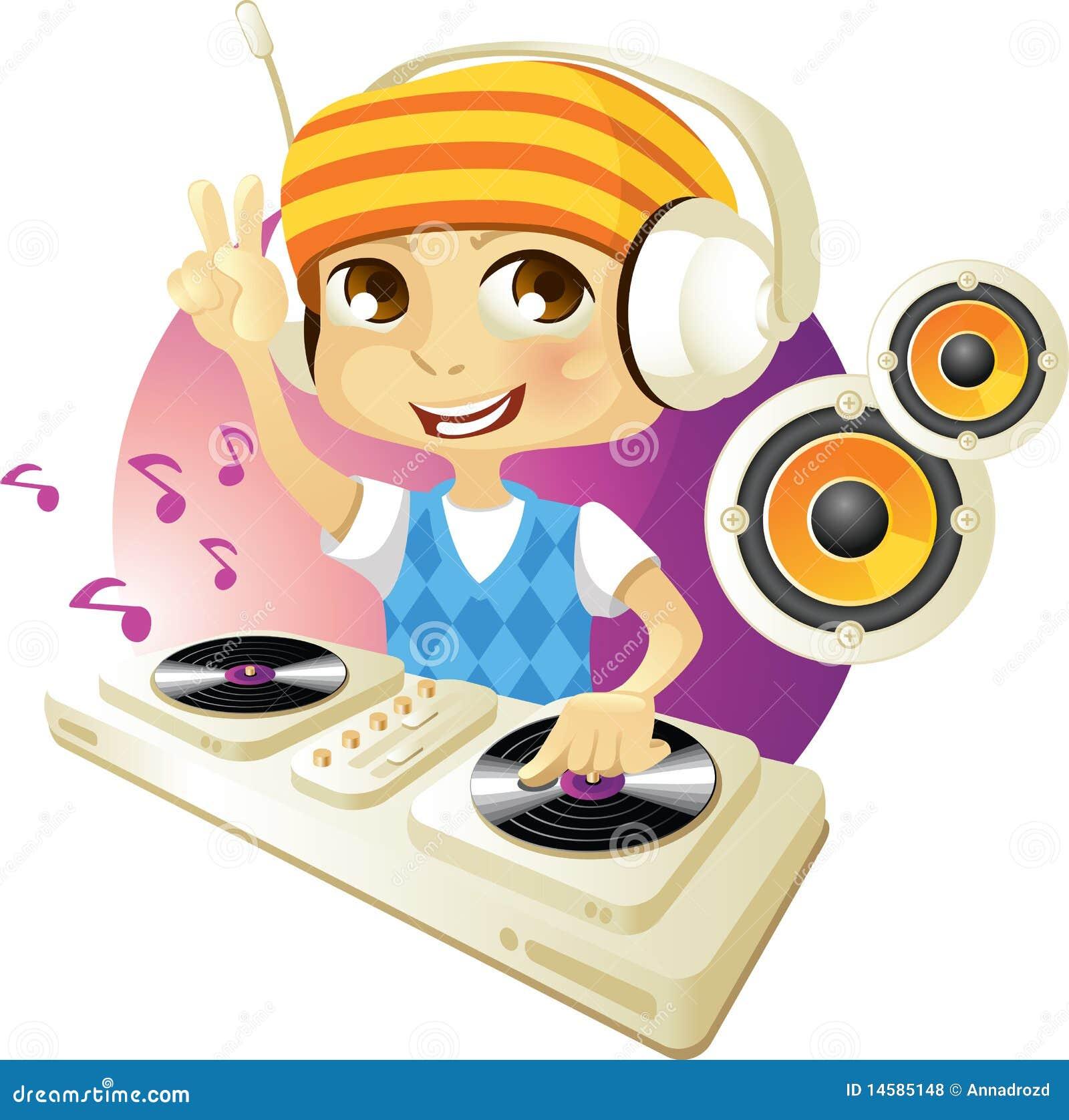 Il DJ divertente