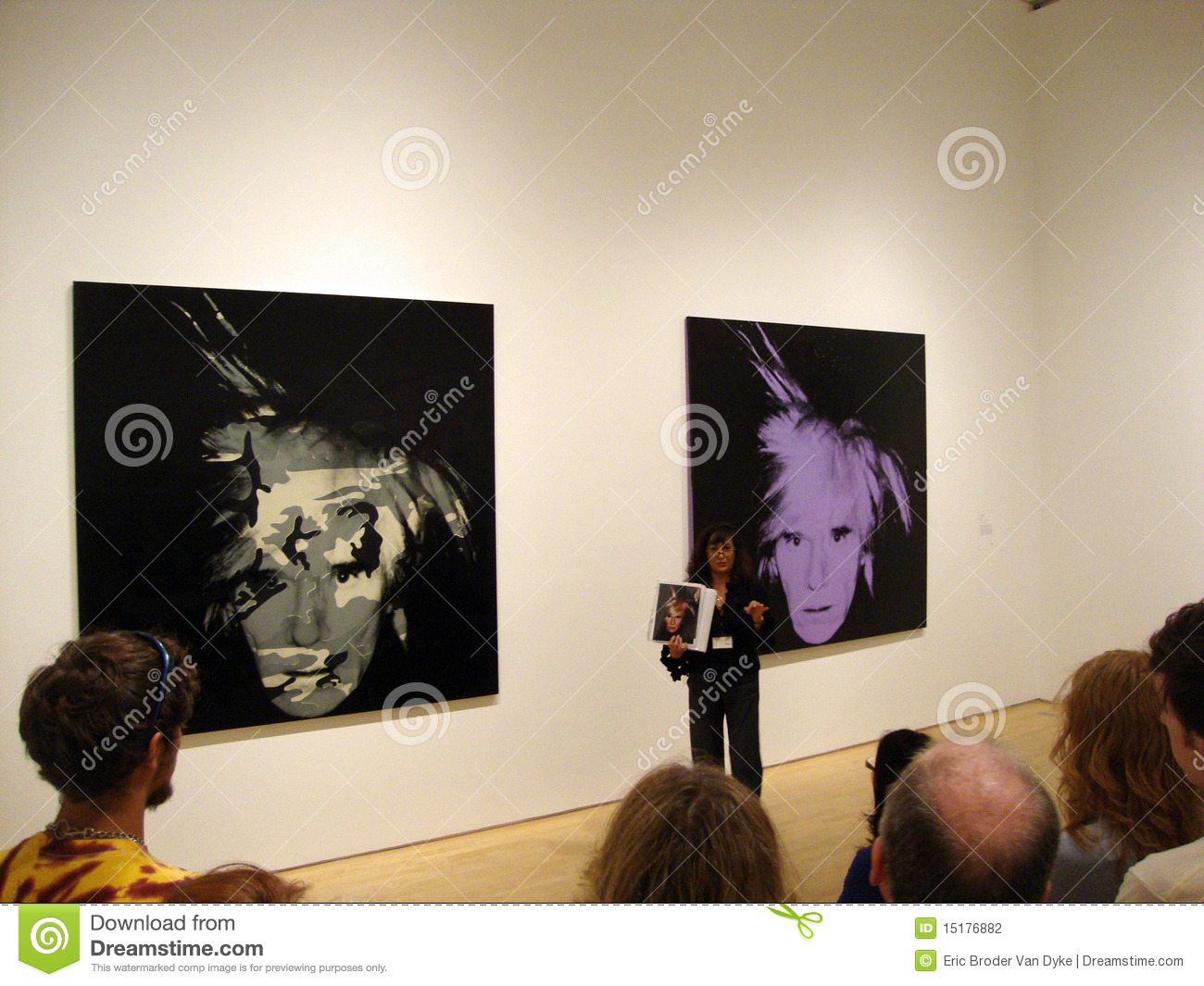 Il docent di MOMA parla dell autoritratto dell Andy Warhol
