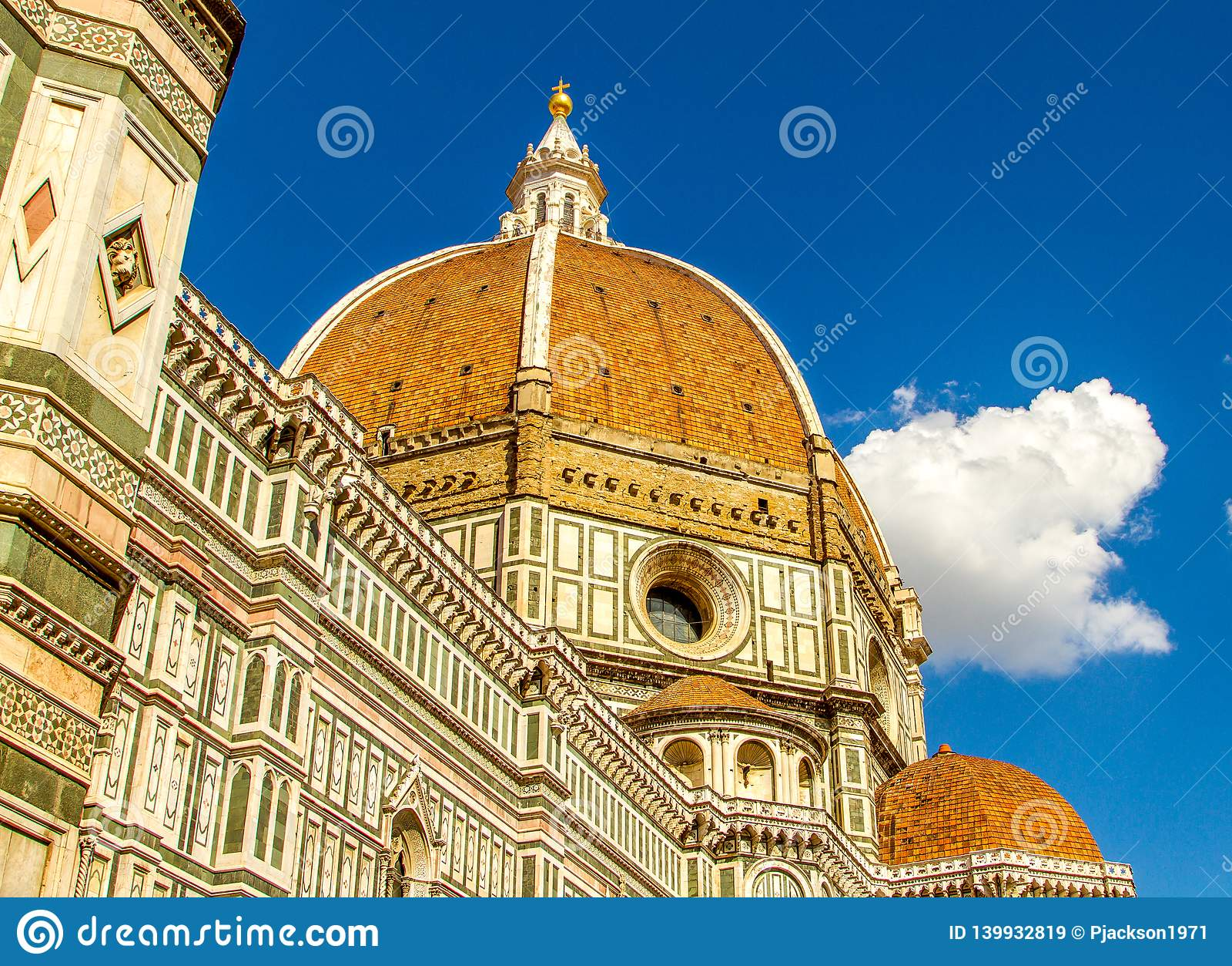 Il-Duomo - domkyrkan i Florence, Italien