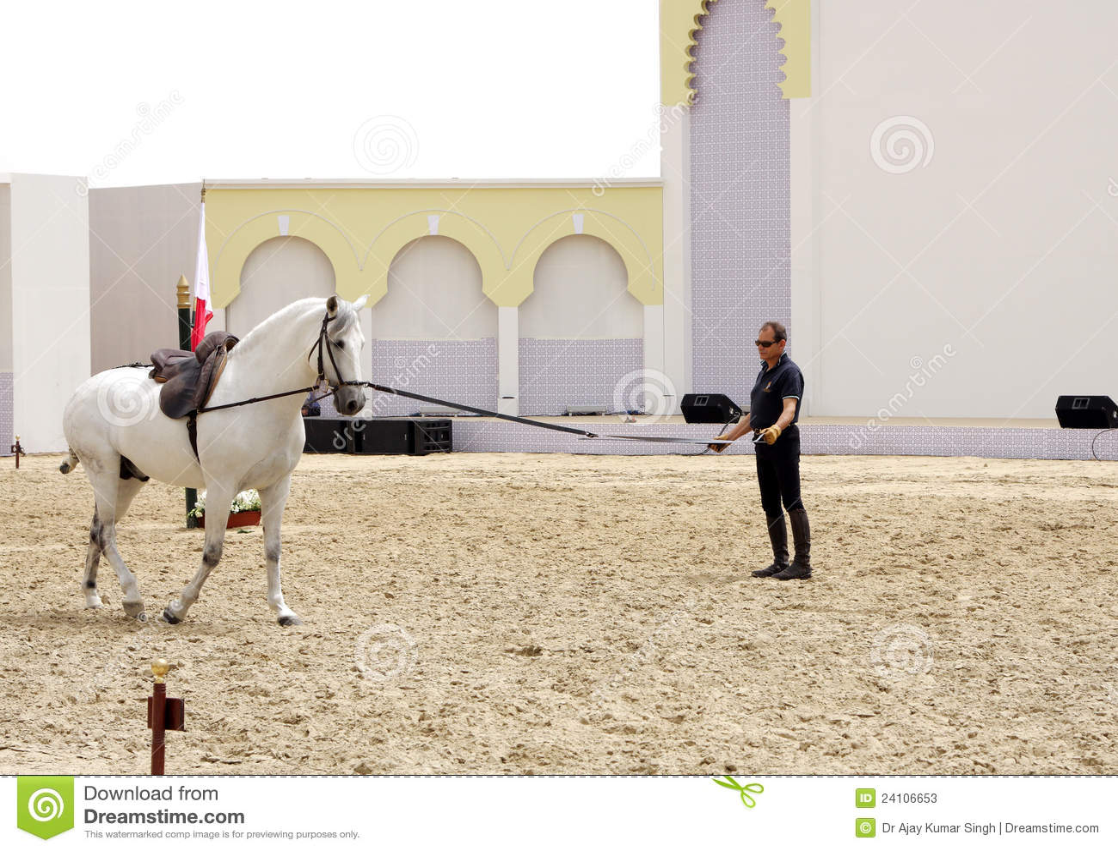 Il Equestrian effettua il 23 marzo 2012 in Bahrain