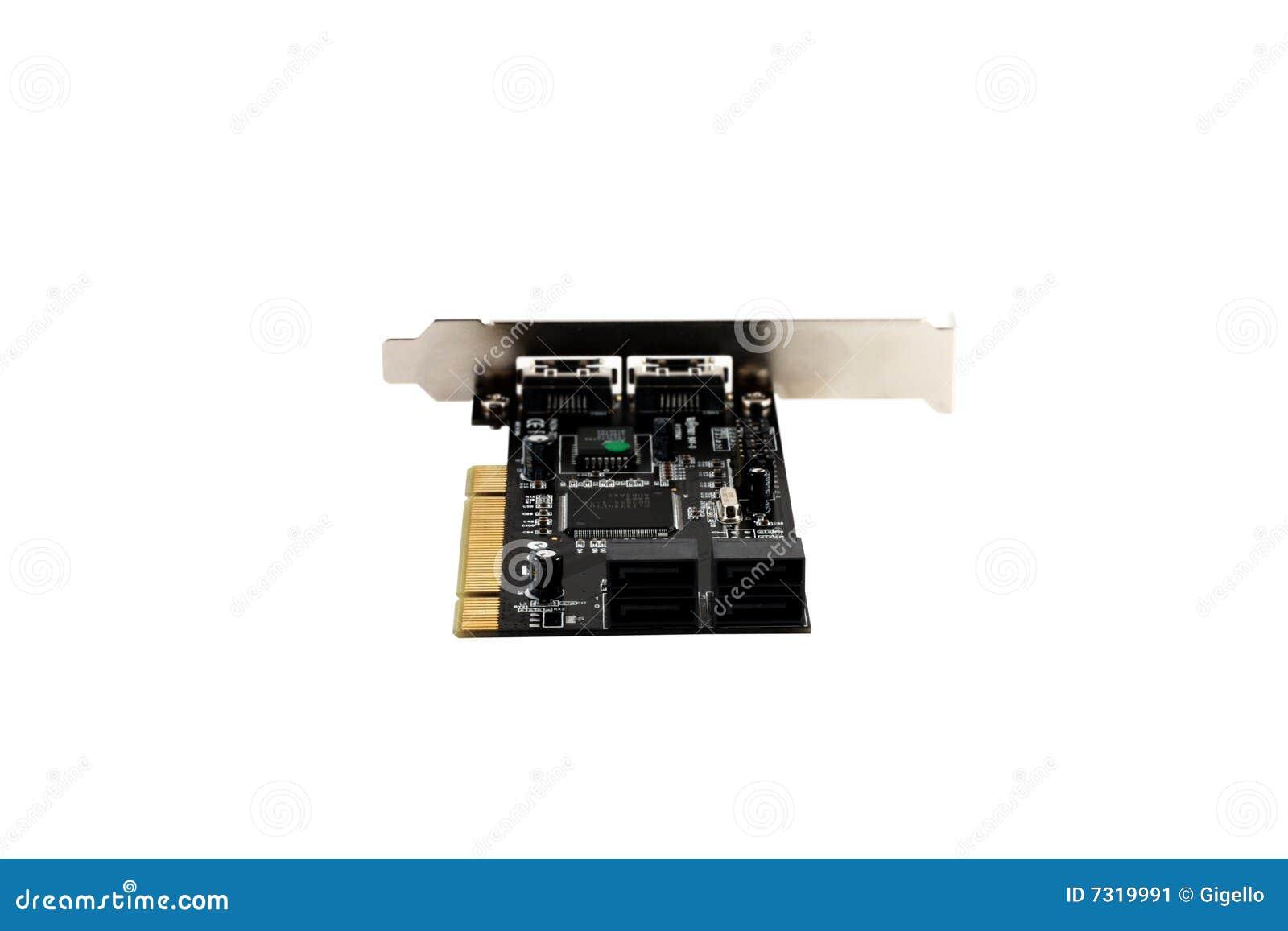 Il eSATA del PCI e SATA attaccano la scheda