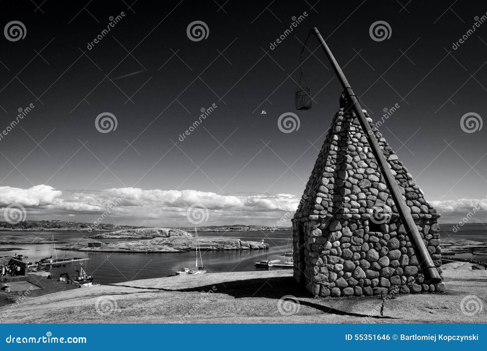 Il faro all estremità di Verdens, Norvegia